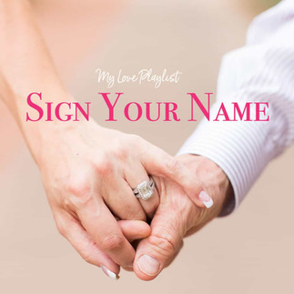 Sign Your Name by Sananda Maitreya – My Love Playlist