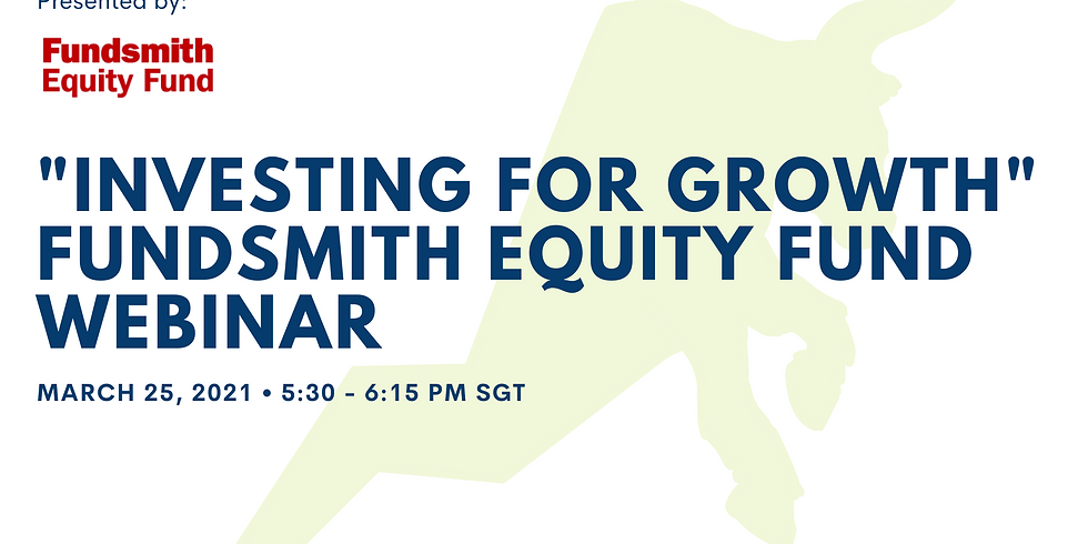 """""""Investing for growth"""" Fundsmith Equity Fund Webinar"""