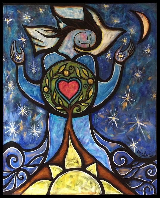 The Sacred Garden - Heart Tree