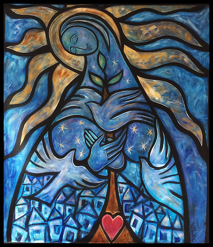The Sacred Garden - Madonna Heart