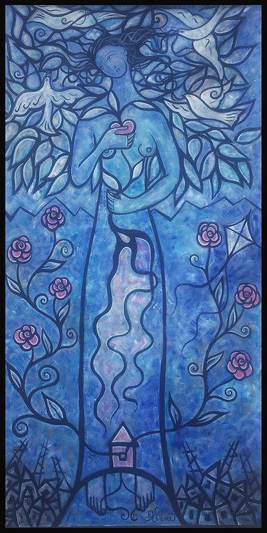 Living Tree in Blues