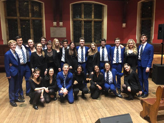 Oxford Belles X Out Of The Blue