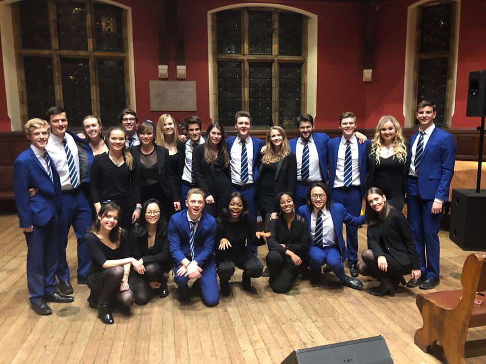 oxford belles with out of the blue