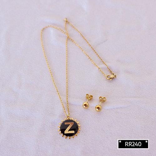 RR241Z Collar y Topitos letra Z