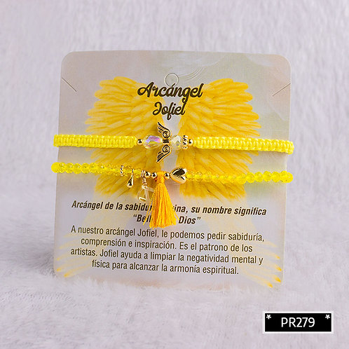 PR279 Pulseras Arcangel Jadiel