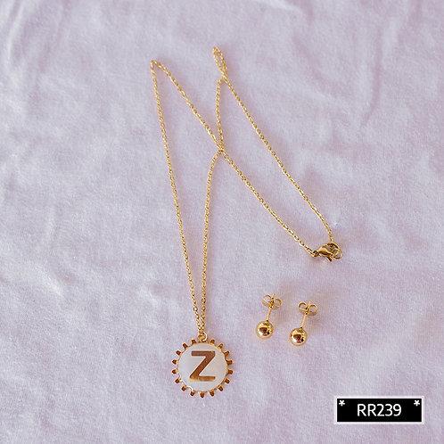 RR250Z Collar y Topitos letra Z