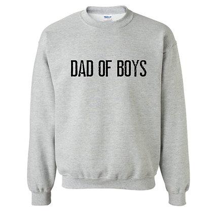 DAD OF BOYS | crewneck sweatshirt
