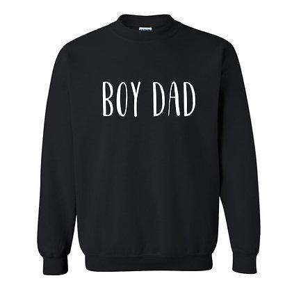 BOY DAD   crewneck sweatshirt