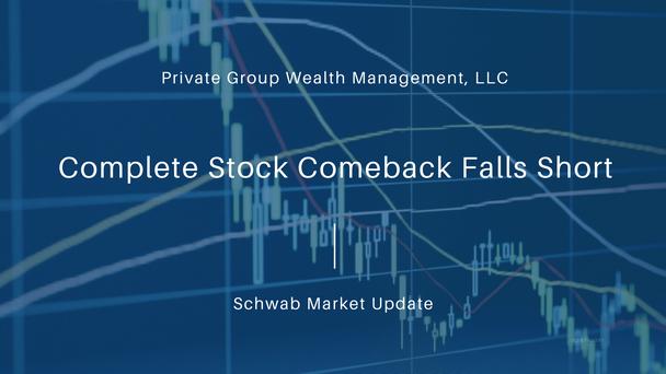 Complete Stock Comeback Falls Short