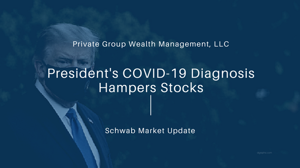 President's COVID-19 Diagnosis Hampers Stocks