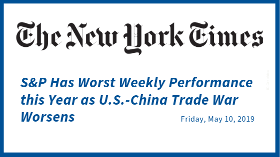 China Trade War Sparks Fear But Not Stock Losses