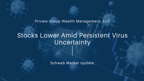 Stocks Lower Amid Persistent Virus Uncertainty