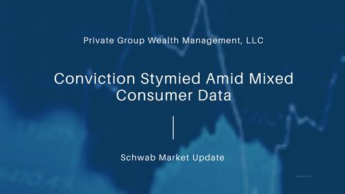Conviction Stymied Amid Mixed Consumer Data