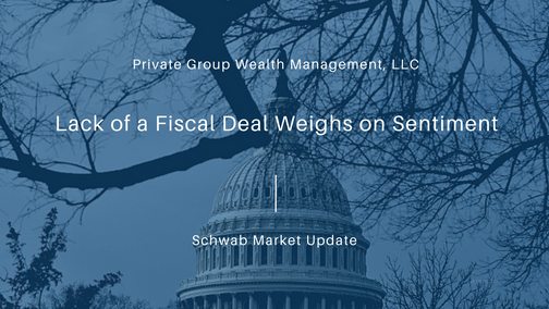 Lack of a Fiscal Deal Weighs on Sentiment