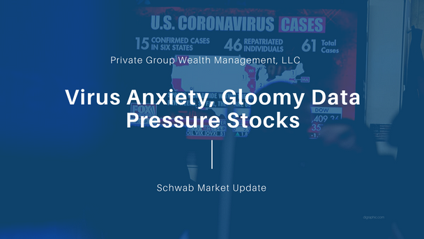Virus Anxiety, Gloomy Data Pressure Stocks