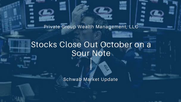 Stocks Close Out October on a Sour Note