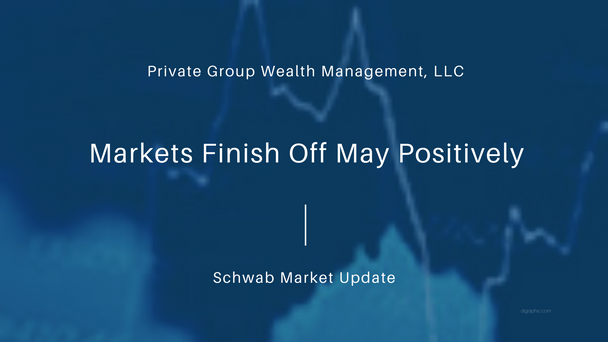 Markets Finish Off May Positively