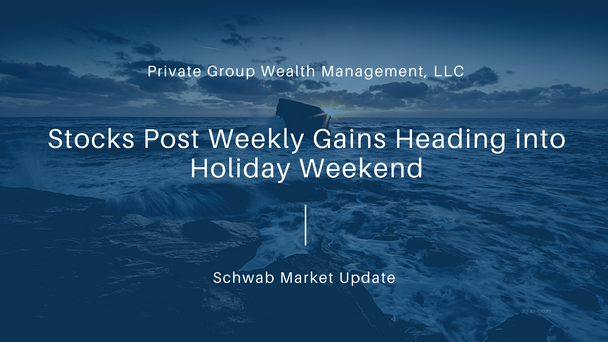 Stocks Post Weekly Gains Heading into Holiday Weekend