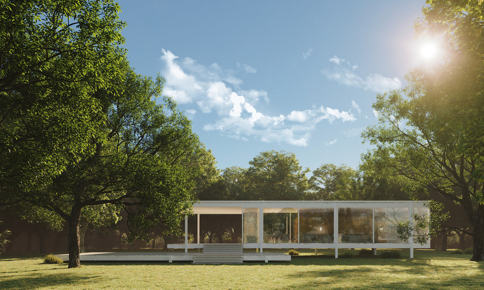 THE FARNSWORTH HOUSE - ILLINOIS USA