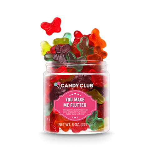 You Make Me Flutter 8oz- Candy Club