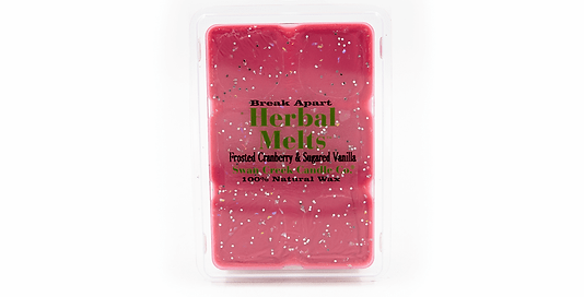 Frosted Cranberry & Sugared Vanilla Wax Melt - Swan Creek
