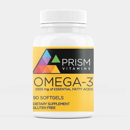 Prism Vitamins OMEGA-3, 90CT Softgels (2200mg)