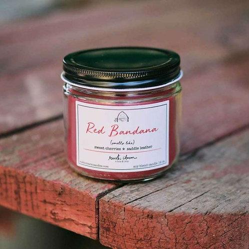 Red Bandana - Rustic Charm Candle
