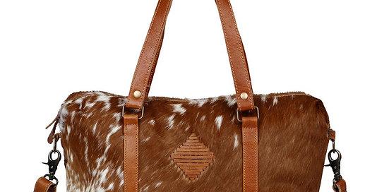 Leather Lust Mini Duffle Bag - Myra Bag