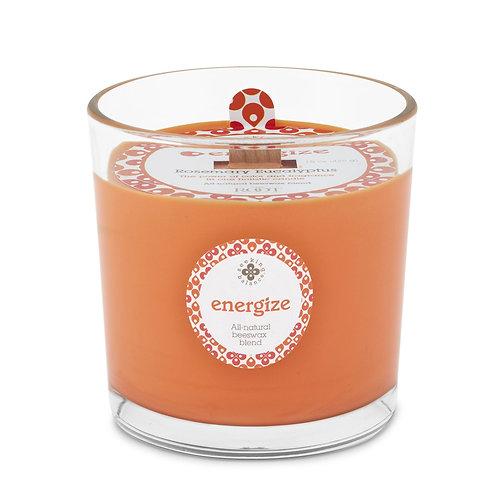 Energize - Rosemary Eucalyptus - Root Candle