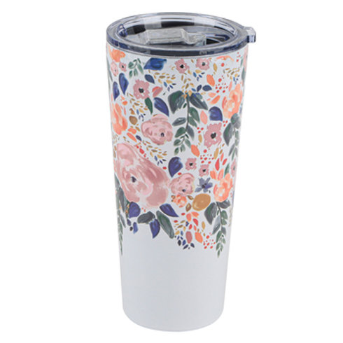 Autumn Blossom Large Tumbler - Mary Square