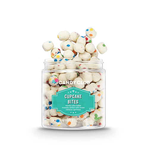 Cupcake Bites 6oz - Candy Club