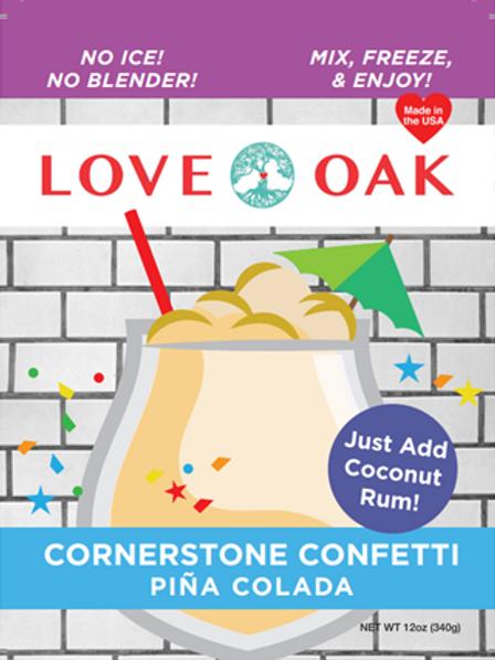 Cornerstone Confetti - Pina Colada - Good Times Slushies