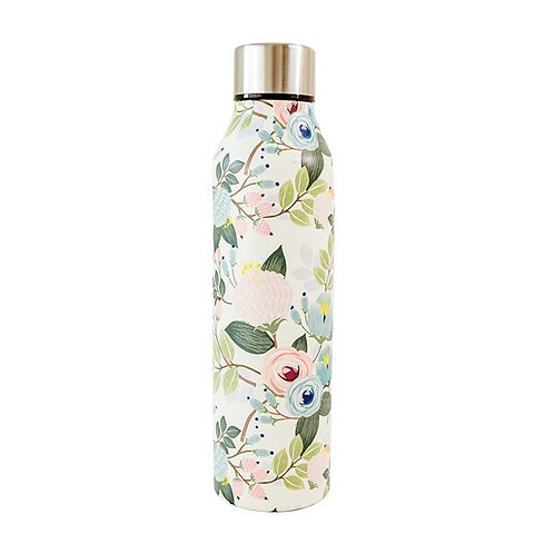 Peach Floral Bottle - Mary Square