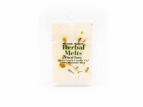 Floral Story Wax Melt - Swan Creek
