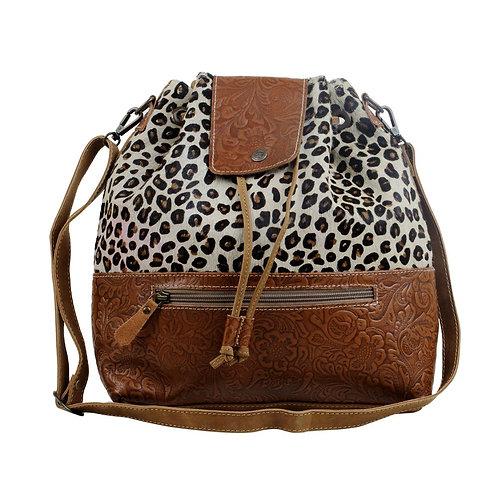 Zesty Leather & Hairon Bag - Myra Bag