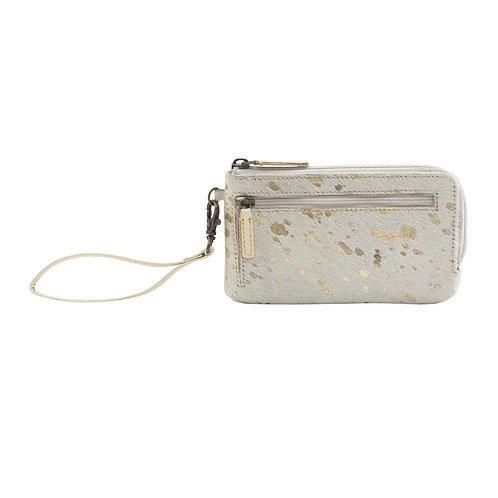 Snowy Affair Leather & Hairon Wallet - Myra Bag