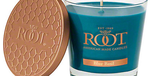 Blue Basil - Root Candle