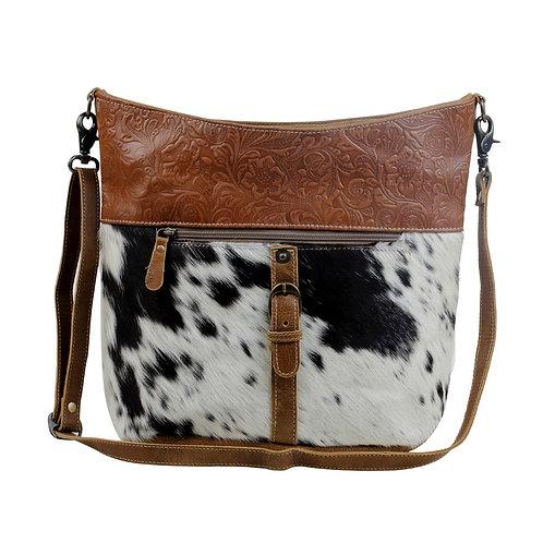 Snooze Leather & Hairon Bag - Myra Bag