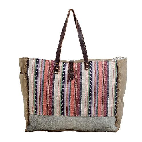 Pastel Hues Weekender Bag - Myra Bag