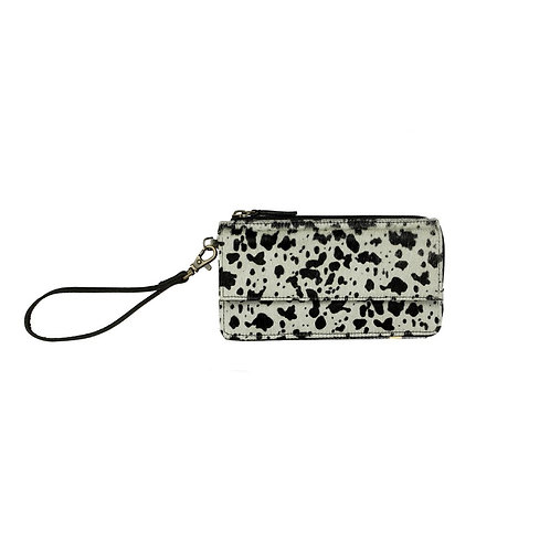 Quirky Black Dalmatian Wallet - Myra Bag