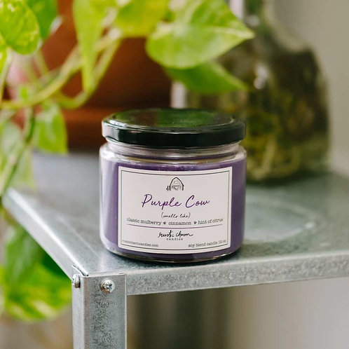 Purple Cow - Rustic Charm Candle