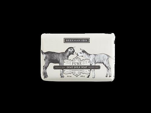 Pure Fragrance Free Goat Milk Bar Soap - Beekman 1802