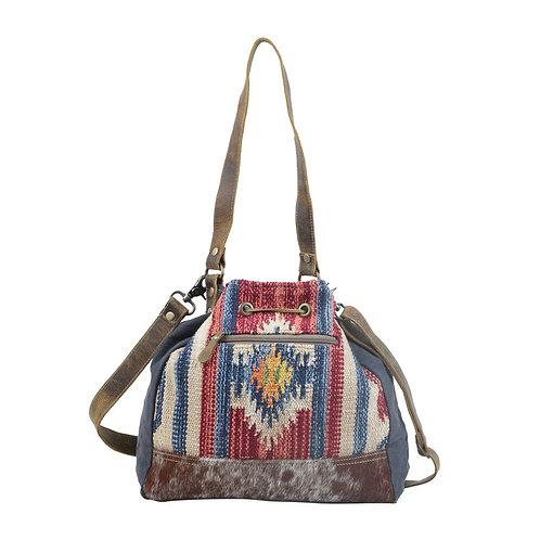 Blue Bucket Bag - Myra Bag