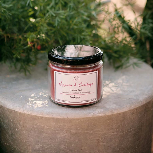 Hippies & Cowboys - Rustic Charm Candle