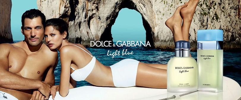 Light Blue by Dolce & Gabbana Banner Ad.