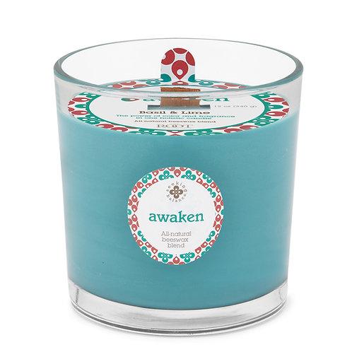Awaken - Basil & Lime - Root Candle
