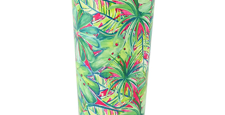 Green Palm Large Tumbler - Mary Square