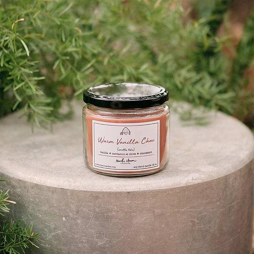 Warm Vanilla Chai - Rustic Charm Candle