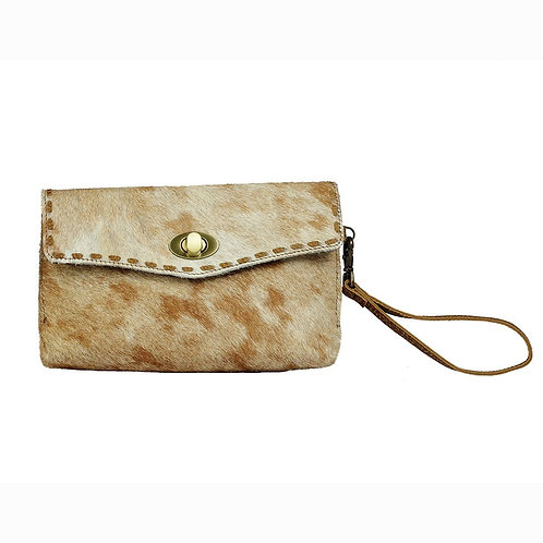 Brown Plumage Wallet - Myra Bag