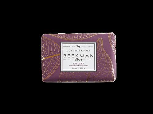 Fig Leaf Goat Milk Bar Soap - Beekman 1802